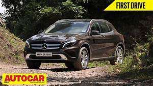 Mercedes Gla 200 : mercedes benz gla 200 cdi first drive video review autocar india youtube ~ Medecine-chirurgie-esthetiques.com Avis de Voitures