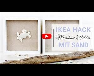 Ikea Bilder Aufhängen : ikea hack maritime bilder mit sand mit dem ribba bilderrahmen ~ Eleganceandgraceweddings.com Haus und Dekorationen