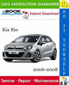 Kia Rio Service Repair Manual 2006