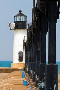 Joseph Pier Lighthouse Michigan