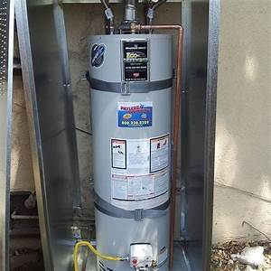 Residential Water Heater Installation Installed Up To Code