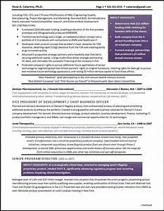 Example executive resume drug development for Resume development services