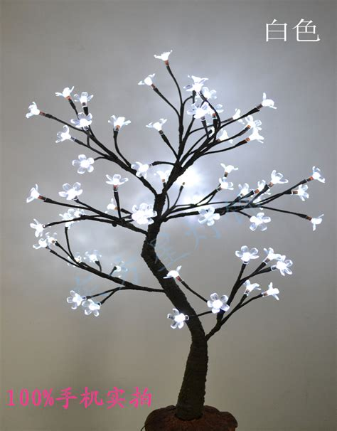 aliexpress com buy 64 led cherry blossom tree light in 70cm height holiday blossom tree