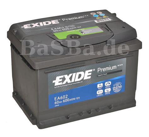 opel astra batterie exide car battery 12v 60 ah opel astra f g h 1 6 2 0