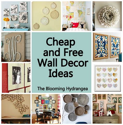 cheap home interior design ideas cheap free wall decor ideas roundup idea frame series