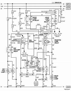 Electrical Wiring Diagram 2005 Kalos 10  Front  U0026 Rear Fog