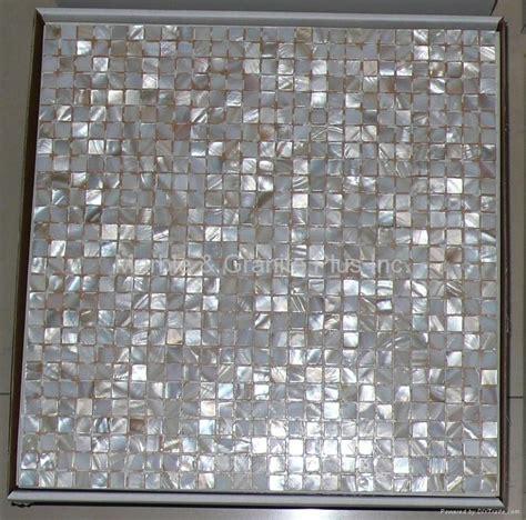mesh 10x10mm 300x300mm white of pearl mosaic tile