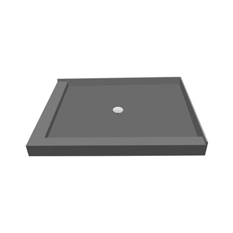 redi base 36 in x 60 in threshold shower base