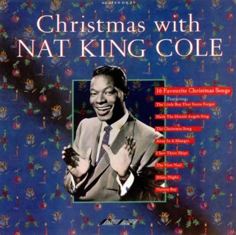 """Christmas With Nat """"king"""" Cole Lyrics  Nat King Cole"""