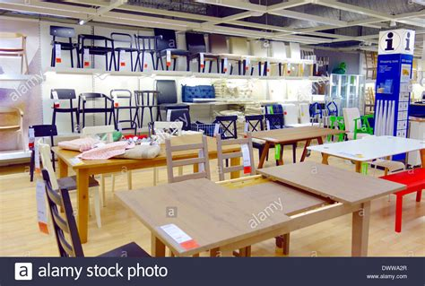 tables  chairs   ikea store  toronto canada stock