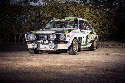 Ford Rally Car by Mcrae S Ford Mk2 Rs1800 Gp4 Historic Rally Car