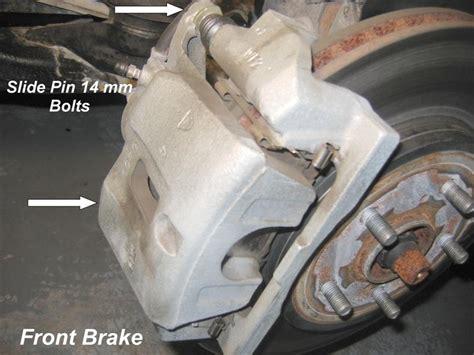[how To Repair Front Brake Caliper 2009 Lexus Is]