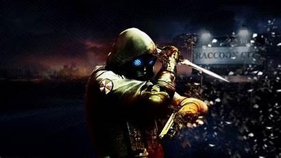 Resident Evil Umbrella Gas Corp Hooded Pistols