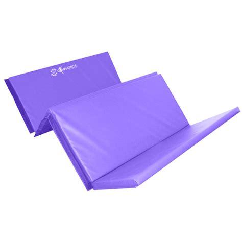 gymnastics mat uk sure foldable 4 fold mat 60mm purple gymnastics