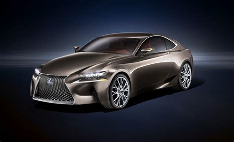 lexus concept coupe lexus lf cc hints at future lexus coupe in paris
