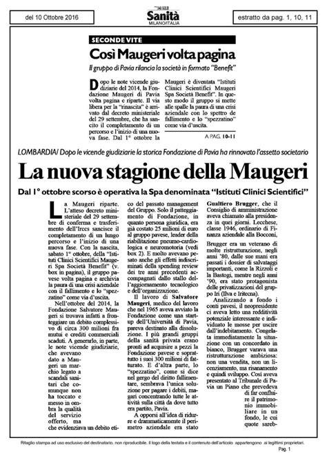 Volta Pagina Pavia by Cos 236 Maugeri Volta Pagina Il Sole 24 Ore Sanit 224 11