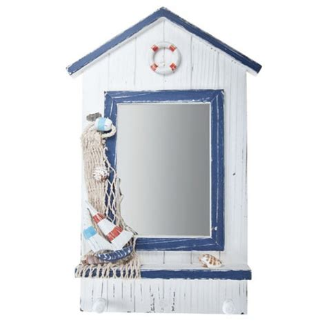 nautical mirrors and driftwood mirrors ideal bathroom