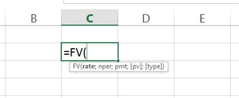 ms excel future value formula sle chapter from