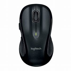 Logitech M510 Full Size Laser Wireless Mouse Usb Receiver