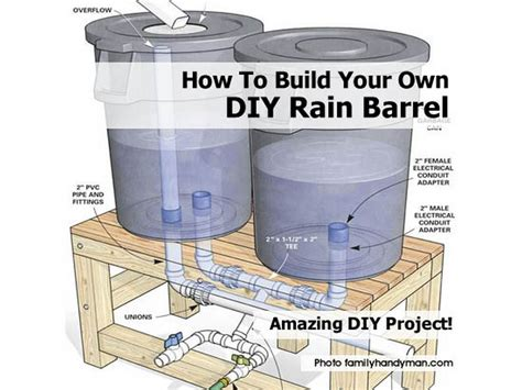 how to make a barrel how to build your own diy rain barrel