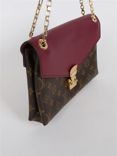 louis vuitton pallas chain monogram canvas luxury bags