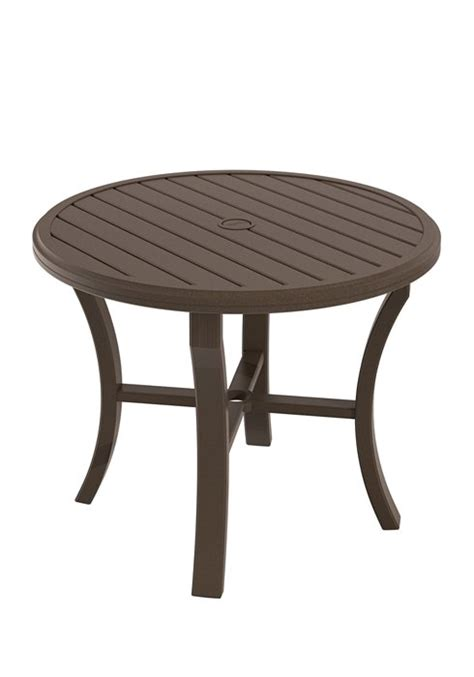dining table 36 quot banchetto hauser s patio