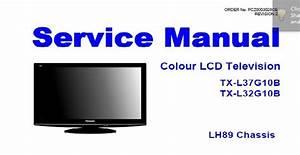 Panasonic Tx L37g10b Service Manual