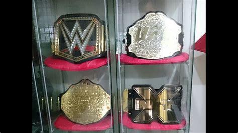 replica belts display  youtube