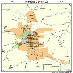 Richland Center WI Map