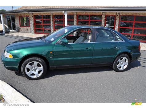 1997 Audi A4 Quattro by Cactus Green Metallic 1997 Audi A4 2 8 Quattro Sedan