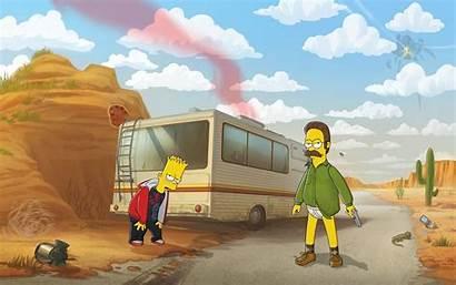 Simpsons Simpson Bad Breaking Bart Ned Flanders