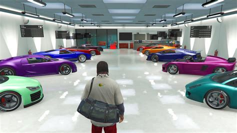 Garage Of Cars by Gta 5 Pc Mods Single Player Garage Loaded Of Cars