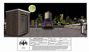 Gotham City Rooftop - FATHERS OF THE DARK Knight