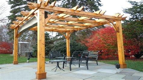 retractable awning wood patio covered pergola canopy manual awnings kits canopies  rain