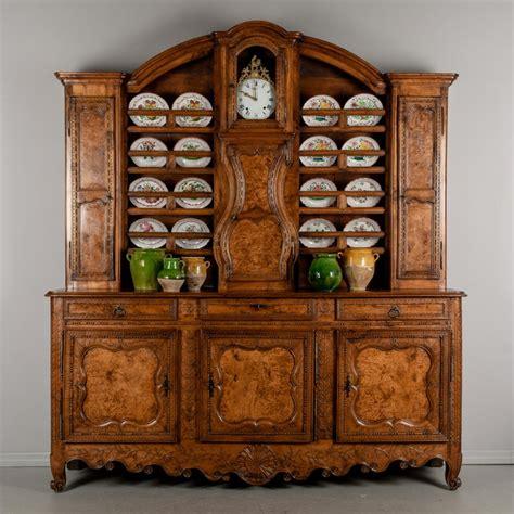 century french vaisselier  sideboard  clock  sale  stdibs