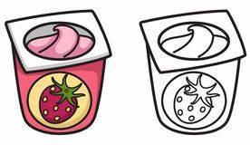I Jogurt Stock Illustrations Vectors Clipart 545