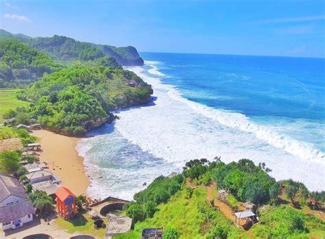 pantai indrayanti wisata asyik  seru  jogjakarta