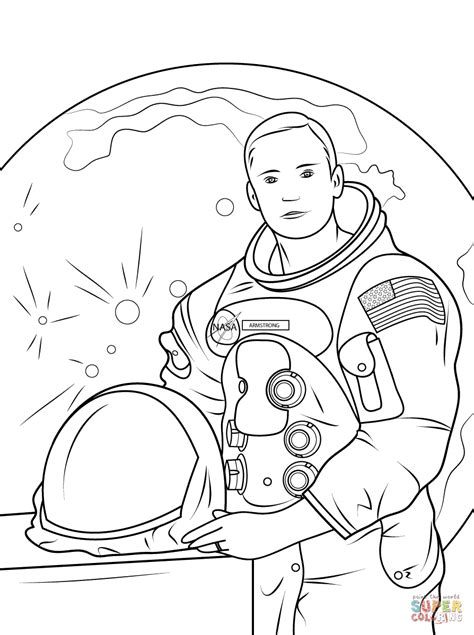 neil armstrong cartoon clipart   cliparts