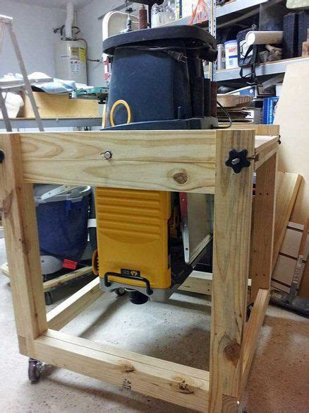 flip top mobile tool cart woodworking projects diy