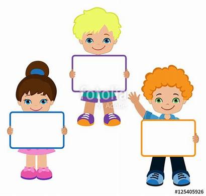 Frame Clip Clipart Board Child Meeting Signs