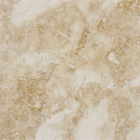 msi cappuccino 12 in x 12 in polished marble floor and wall tile 10 sq ft