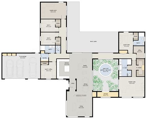 shaped contemporary house plans   wallpaper