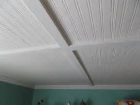 2x4 Drop Ceiling Tiles Tin by Living A Cottage Life Beadboard Ceiling