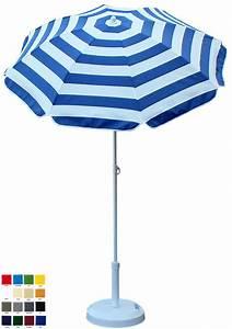 Parasol De Balcon Inclinable : parasol rond 150cm votre couleur d lai 7 jours ouvr s ~ Premium-room.com Idées de Décoration