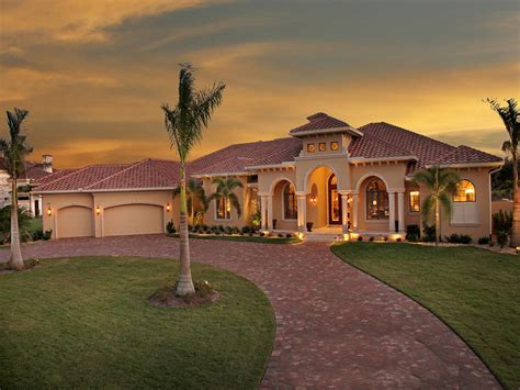 mediterranean homes plans 4 bedrm 4934 sq ft tuscan house plan 175 1150