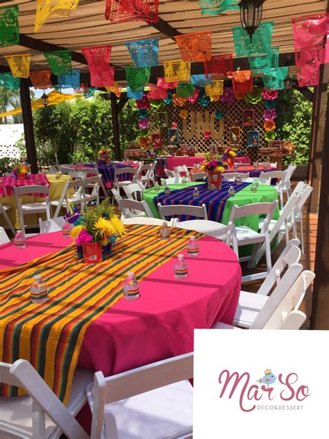 mexican party decoration decor   mexican party