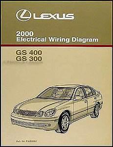 Gs400 Wiring Diagram : 2000 lexus gs 300 400 electrical wiring diagram manual new ~ A.2002-acura-tl-radio.info Haus und Dekorationen