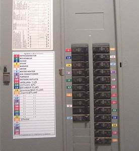 circuit breaker panel directory labels 30 11 position With circuit box labels