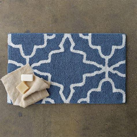 modern white bathroom rugs iznik bath mat modern bath mats by west elm