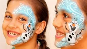 U0026quot Frozen U0026quot  Olaf  U26c4 The Snowman  U2014 Makeup  U0026 Face Painting